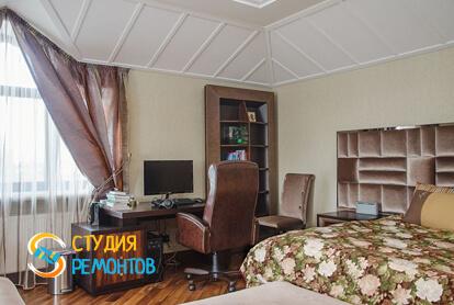 Капитальный ремонт спальни в однокомнатной квартире 43,8 кв.м. фото-2
