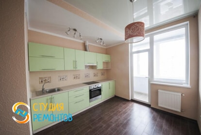 Капитальный ремонт кухни в однокомнатной новостройке 34,7 кв.м.