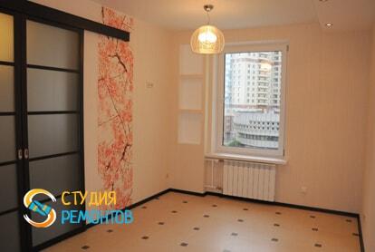 Капитальный ремонт кухни в однокомнатной новостройке 43 кв.м. фото-1