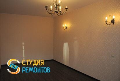 Капитальный ремонт спальни в однокомнатной новостройке 43 кв.м. фото-1