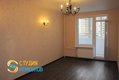 Капитальный ремонт спальни в однокомнатной новостройке 43 кв.м. фото-2