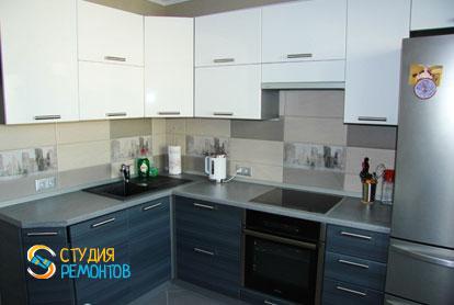 Ремонт кухни в двухкомнатной квартире 51,8 кв.м. под ключ фото-1
