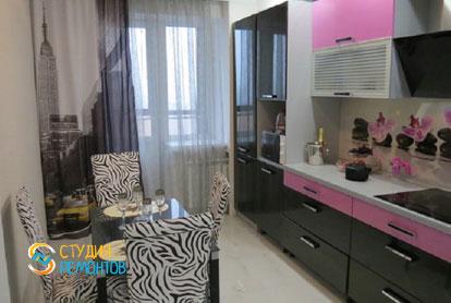 Ремонт кухни в двухкомнатной квартире 54 кв.м. под ключ
