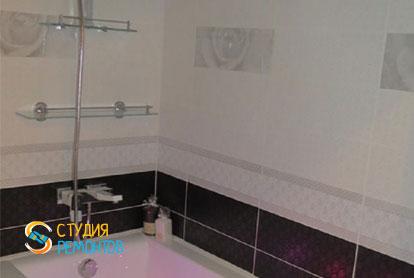Ремонт санузла в двухкомнатной квартире 54 кв.м. под ключ фото-1