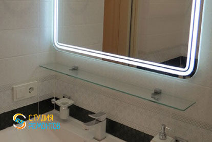 Ремонт санузла в двухкомнатной квартире 54 кв.м. под ключ фото-2
