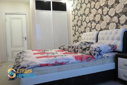 Ремонт спальни в двухкомнатной квартире 54 кв.м. под ключ