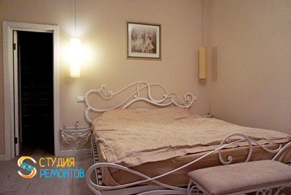 Ремонт спальной в двухкомнатной квартире 61 кв.м. под ключ