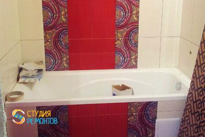 Ремонт ванной в двухкомнатной квартире 51,8 кв.м. под ключ