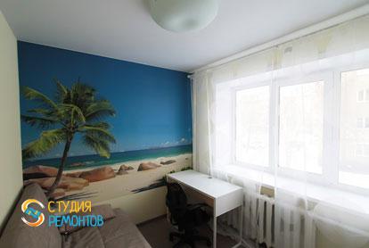Евроремонт комнаты в двухкомнатной хрущевке 53,5 кв.м. фото-1