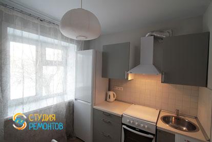 Евроремонт кухни в двухкомнатной хрущевке 53,5 кв.м. фото-1