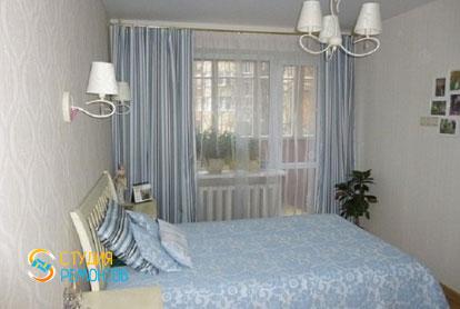 Капитальный ремонт спальни в двухкомнатной хрущевке 48 кв.м.