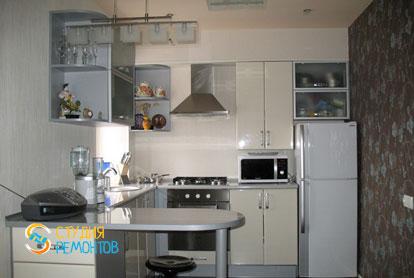 Косметический ремонт кухни в двухкомнатной хрущевке 53,5 кв.м.