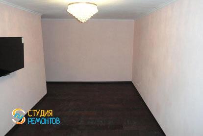 Косметический ремонт спальни в двухкомнатной хрущевке 53,5 кв.м.