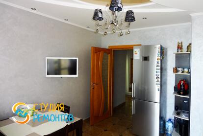 Евроремонт кухни в двухкомнатной квартире 68 кв.м. фото 2