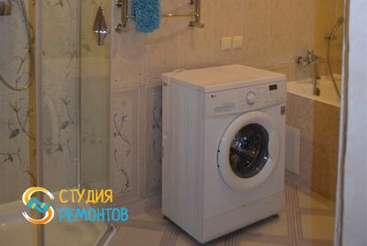 Евроремонт ванной в двухкомнатной квартире 68 кв.м.