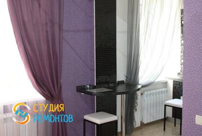 Капитальный ремонт гостиной в двухкомнатной квартире 37,4 кв.м. фото 2