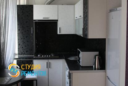 Капитальный ремонт кухни в двухкомнатной квартире 37,4 кв.м.