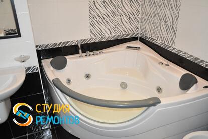 Капитальный ремонт санузла в двухкомнатной квартире 37,4 кв.м.