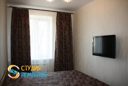 Капитальный ремонт спальни в двухкомнатной квартире 37,4 кв.м.