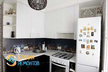 Косметический ремонт кухни в двухкомнатной квартире 43 кв.м.