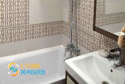 Косметический ремонт ванной в двухкомнатной квартире 43 кв.м. фото 1