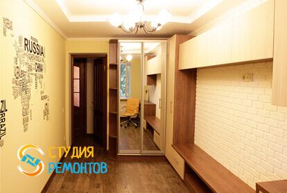 Косметический ремонт жилой комнаты в двухкомнатной квартире 43 кв.м. фото 2