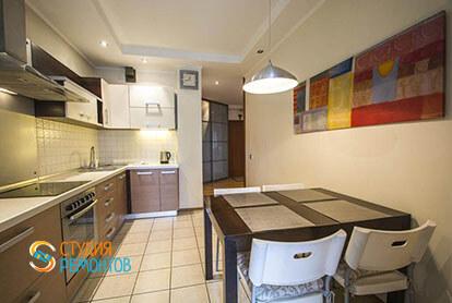 Евроремонт кухни в трехкомнатной квартире 78 кв.м. под ключ