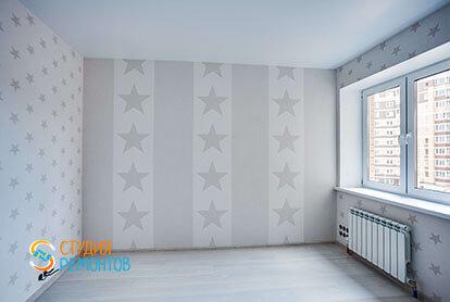 Капитальный ремонт комнаты в квартире 71 кв.м.