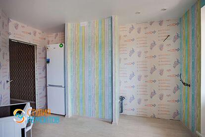 Капитальный ремонт кухни в квартире 71 кв.м.