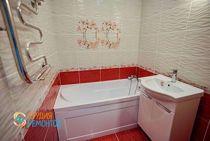 Капитальный ремонт ванной в квартире 71 кв.м.