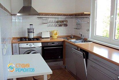 Капитальный ремонт кухни в 3-х комнатной хрущевке 68 кв.м.