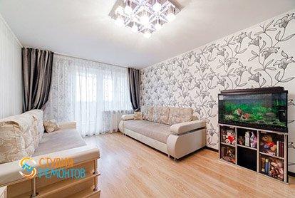 Ремонт гостиной в трехкомнатной квартире-хрущевке 69 м2