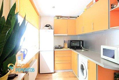 Ремонт кухни в трехкомнатной квартире-хрущевке 69 м2
