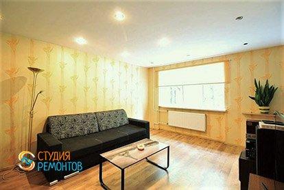 Ремонт спальни в трехкомнатной квартире-хрущевке 69 м2