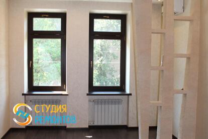 Капитальный ремонт гостиной в трехкомнатной квартире 68,8 кв.м. фото 1