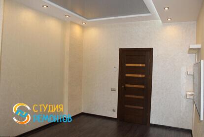 Капитальный ремонт гостиной в трехкомнатной квартире 68,8 кв.м. фото 2