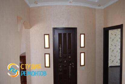 Капитальный ремонт коридора в трехкомнатной квартире 56,7 кв.м.