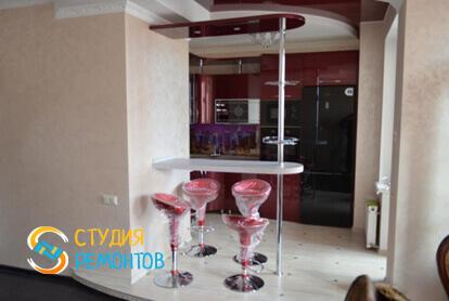 Капитальный ремонт кухни в трехкомнатной квартире 56,7 кв.м.