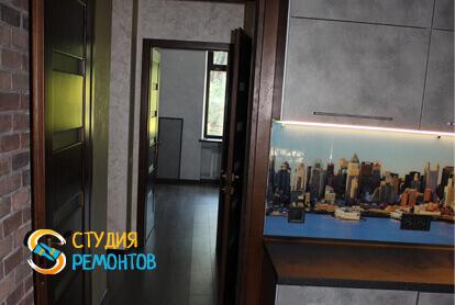 Капитальный ремонт кухни в трехкомнатной квартире 68,8 кв.м.