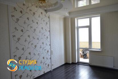 Капитальный ремонт спальни в трехкомнатной квартире 56,7 кв.м.