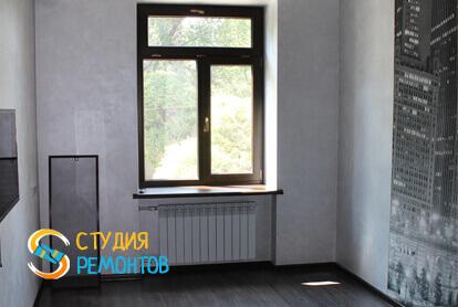 Капитальный ремонт спальни в трехкомнатной квартире 68,8 кв.м. фото 1
