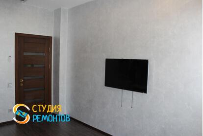 Капитальный ремонт спальни в трехкомнатной квартире 68,8 кв.м. фото 2