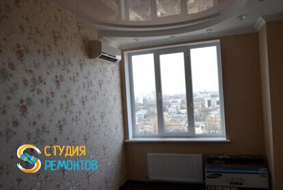 Капитальный ремонт жилой комнаты в трехкомнатной квартире 56,7 кв.м.