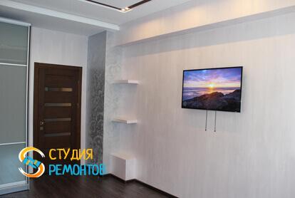Капитальный ремонт комнаты в трехкомнатной квартире 68,8 кв.м.