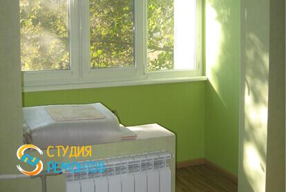 Косметический ремонт детской в трехкомнатной квартире 61,4 кв.м. фото 2