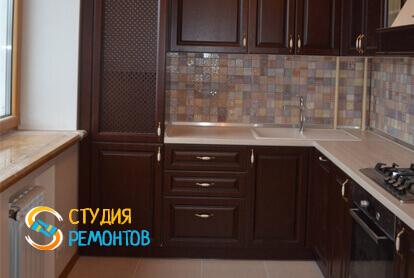 Косметический ремонт кухни в трехкомнатной квартире 61,4 кв.м.
