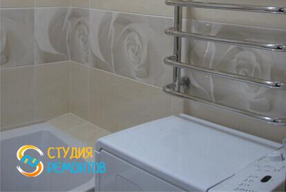 Косметический ремонт ванной в трехкомнатной квартире 61,4 кв.м.