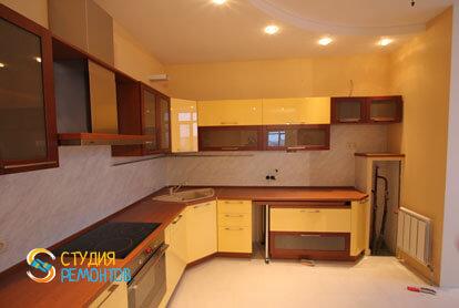 Евроремонт кухни в трехкомнатной новостройке 72,5 кв.м.