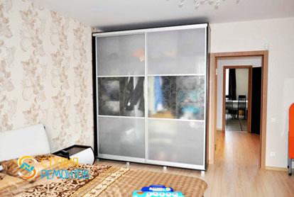 Евроремонт спальни в трехкомнатной новостройке 85 кв.м.