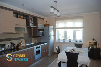 Капремонт кухни в трехкомнатной новостройке 83 кв.м. фото 1
